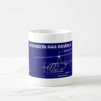 R44 Helicopter Coffee Mug