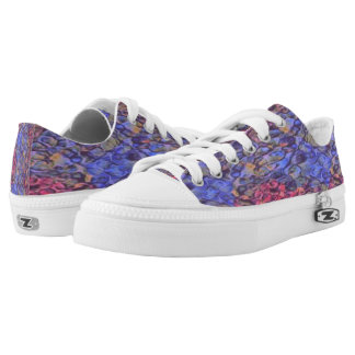 R_B Low Tops Printed Shoes