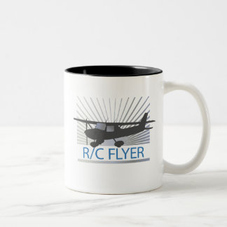 R/C Flyer Two-Tone Coffee Mug
