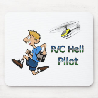 R/C Helicopter Joke mousepad