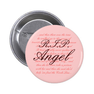 R.I.P. Angel 6 Cm Round Badge