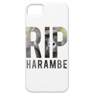R.I.P Harambe iPhone Case