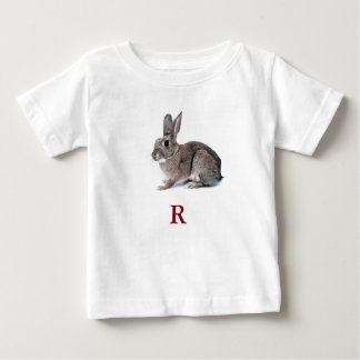 R Is For Rabbit Baby T-Shirt