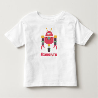 R is for Robot Toddler T-Shirt