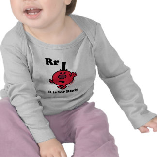 R is for Rude Tee Shirt