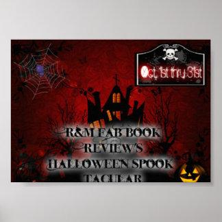 R&M Halloween Spook-Tacular Poster