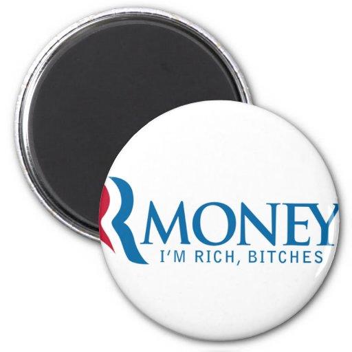 R-Money Mitt Romney LOL Magnet