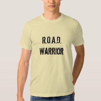 R.O.A.D. Warrior T-shirts
