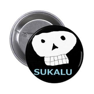 Ⅿ r. skull you 6 cm round badge