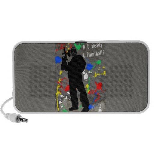 R U Ready 4 Paintball? iPod Speaker