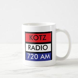 R W B KOTZ RADIO CLASSIC WHITE COFFEE MUG