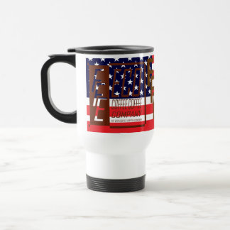 R. W. Blue FFE ECO COFFEE COFFEE COMPANY Stainless Steel Travel Mug