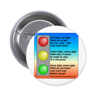 R-Y-G-lights Pinback Buttons