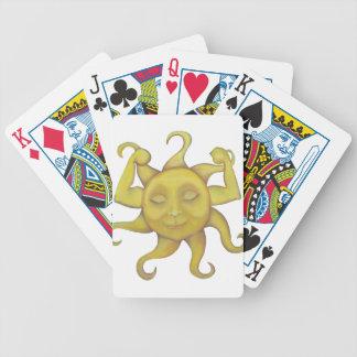 Râ sun bicycle playing cards