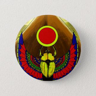Ra the Egyptian Sun God 6 Cm Round Badge