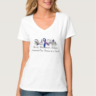 RA Tray Rheumatoid Arthritis Awareness Shirt