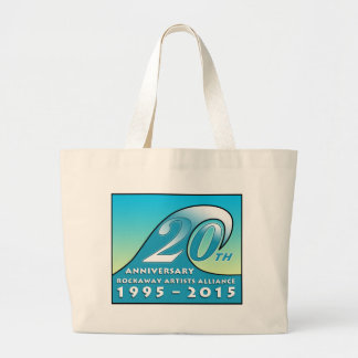 RAA 20th Anniversary Jumbo Tote Bag