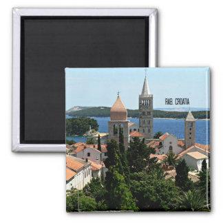 Rab, Croatia landscape photograph Magnet