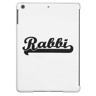 Rabbi Classic Job Design iPad Air Cases