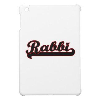 Rabbi Classic Job Design iPad Mini Covers