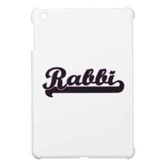 Rabbi Classic Job Design iPad Mini Cases
