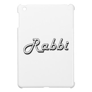 Rabbi Classic Job Design iPad Mini Cover
