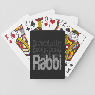 Rabbi Extraordinaire Playing Cards