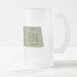 Rabbi-Ra-B-Bi-Radium-Boron-Bismuth.png Frosted Glass Beer Mug