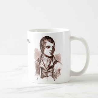 Rabbie Burns, Like a Red Red Rose Mug