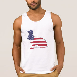 "Rabbit ""American Flag"" Singlet"