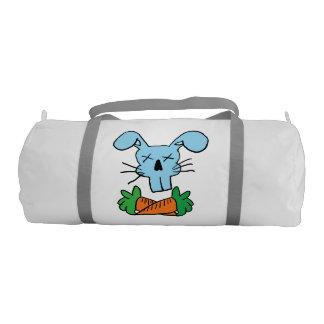 Rabbit and Cross Carrots Duffle Bag Gym Duffel Bag