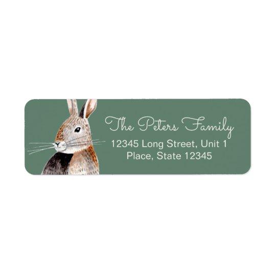 Rabbit   Baby Shower   Address Labels