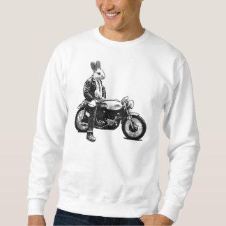Rabbit biker sweatshirt