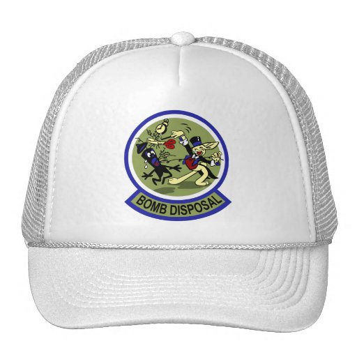 Rabbit Bomb Disposal Mesh Hats
