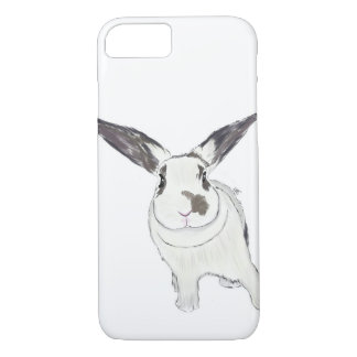 Rabbit Bunny Phone Case, Rabbit Illustration iPhone 8/7 Case