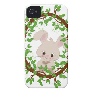 Rabbit , bunny, WOODLAND-CRITTERS Case-Mate iPhone 4 Cases