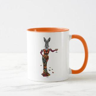 Rabbit Butterfly Dress 2 Mug