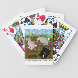 Rabbit Cartoon 8724 Bicycle Playing Cards