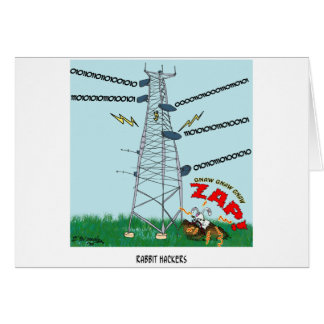 Rabbit Cartoon 9191 Card