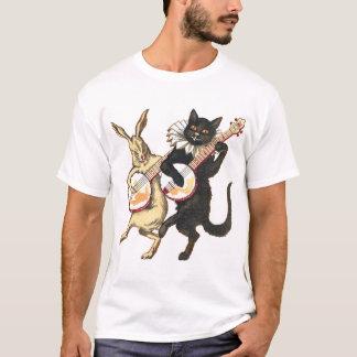 Rabbit & Cat Men's light short sleeve T-Shirt
