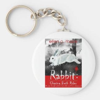 Rabbit: Chasing Beth Rider Basic Round Button Key Ring