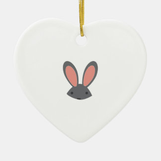 Rabbit Ears Christmas Tree Ornaments