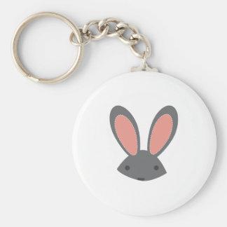 Rabbit Ears Keychain