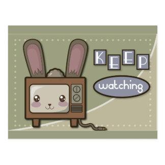 Rabbit Ears Postcard