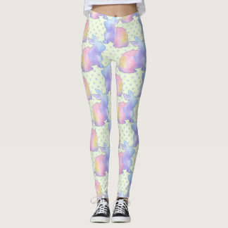 Rabbit Easter Leggings