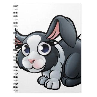 Rabbit Farm Animals Cartoon Character Notebook