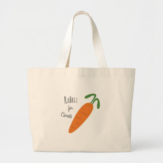Rabbit For Carrots Canvas Bags