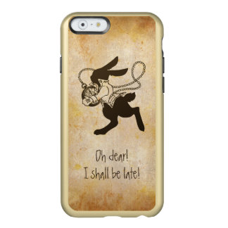 Rabbit from Alice in Wonderland Funny Quotes Incipio Feather® Shine iPhone 6 Case