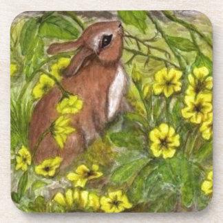 Rabbit - Happy Easter Coaster