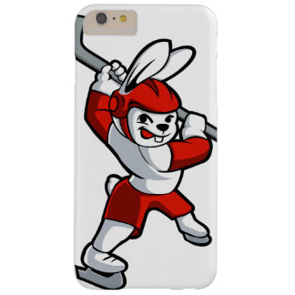 rabbit hockey cartoon barely there iPhone 6 plus case